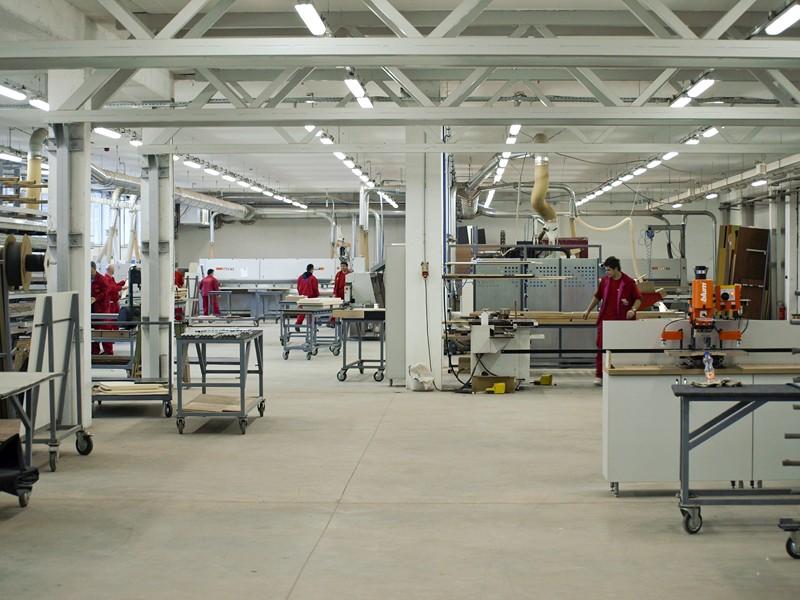 Fabrika McMilan - proizvodnja